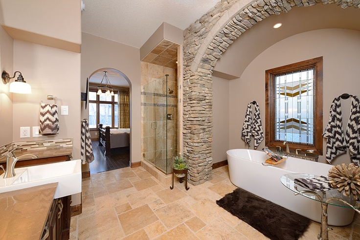 """A shower door recently installed in one of the Edmonton """"Full House Lottery"""" dream homes..."""