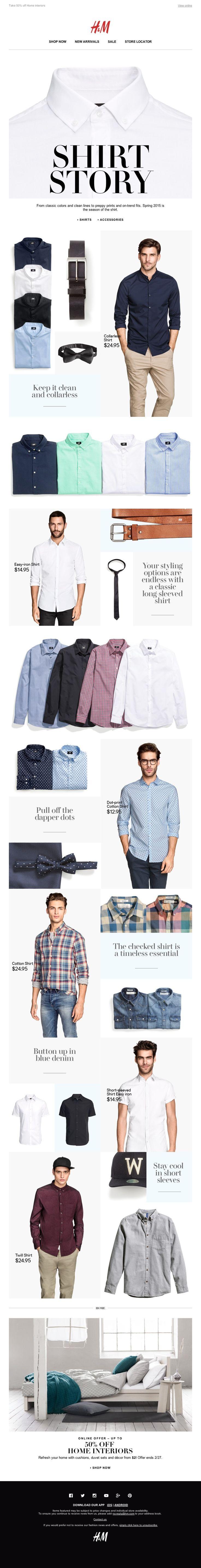 H&M - Shirt Story
