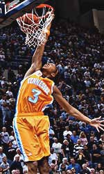 UT All American Candace Parker dunking the Lady Vols past evil UConn. Sah-weet!