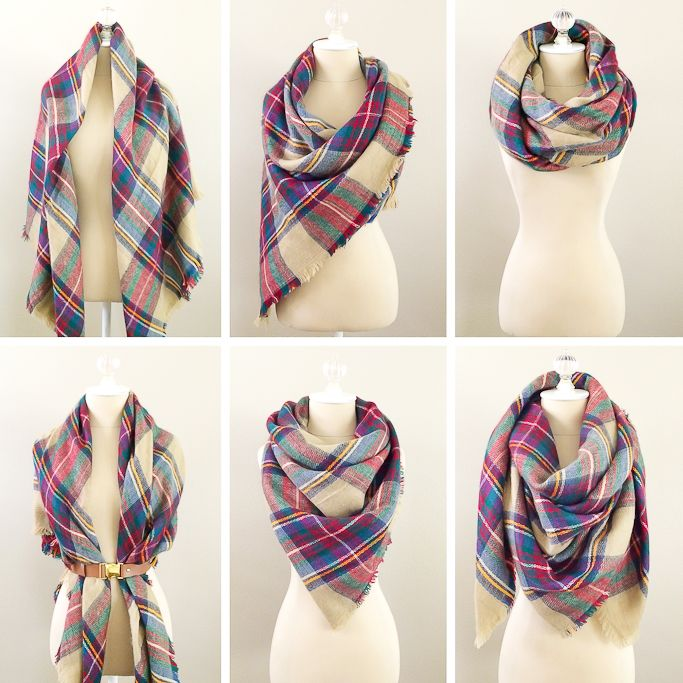 best 25 blanket scarf ideas on wearing