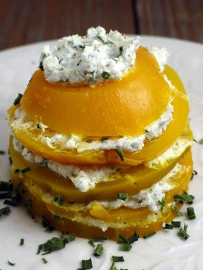 Golden Beets With Herbed Goat Cheese (1) From: Healthy Living How To, please visit