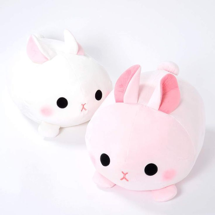 Squishy Bunny Pillow : Mochikko Usa-pyonzu Rabbit Plush Collection (Big) Plush, Big and Collection