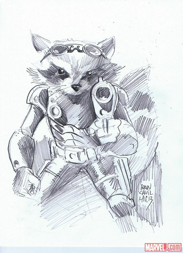 Launch into Infinity through Guardians of the Galaxy with these exclusive sketches from Francesco Francavilla! http://marvel.com/news/story/21105/launch_into_infinity_through_guardians_of_the_galaxy