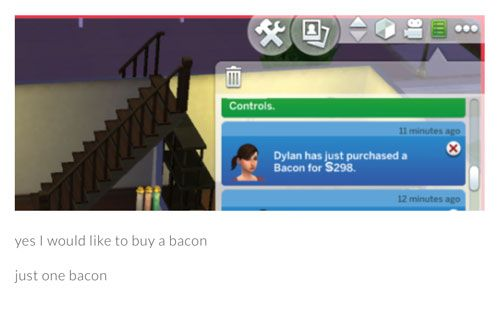 sims-gone-wrong-bacon
