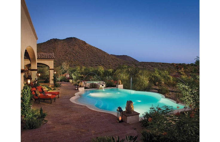 17 Best Images About A Desert Landscaping For Pool On
