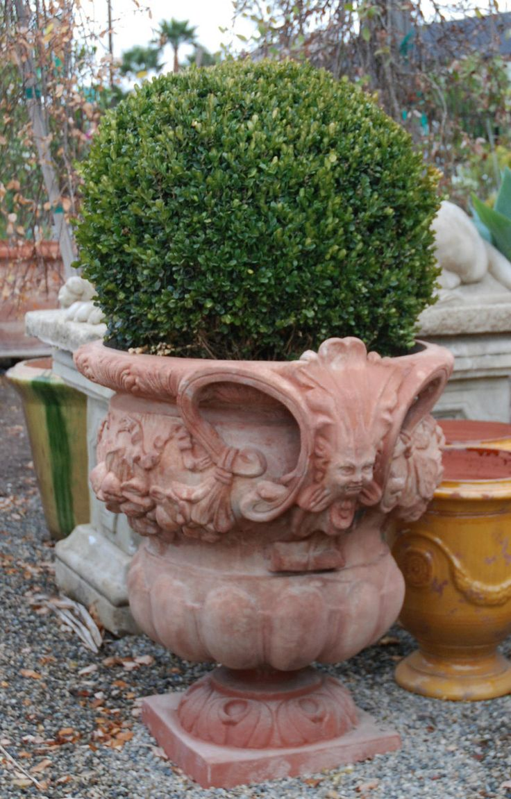 Beautiful Our Italian Ornate Product Line Includes Terrecotte San Roccou0027s Intricately  Designed And Decorated Planters And Pots.