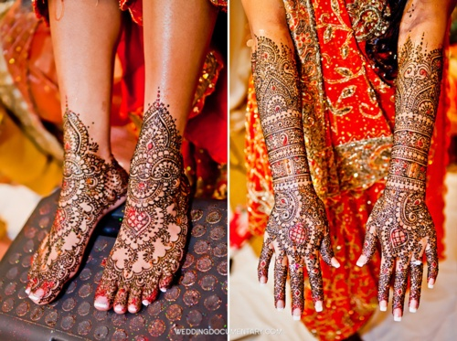 Mehendi Ceremony Meaning : Best images about wedding make up hair jewelry on