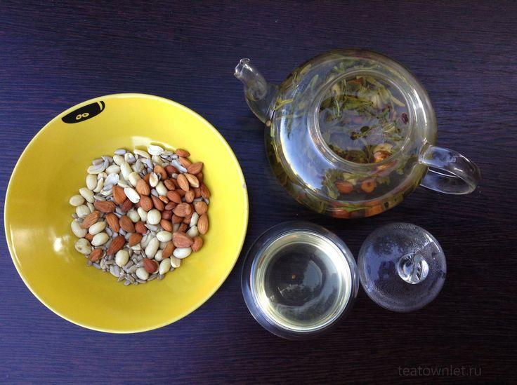 Изначально при производстве чая Лун Цзин, чайные листочки обжаривают на арахисовом масле... #ЧайныйГородок #Чай #Лунцзин