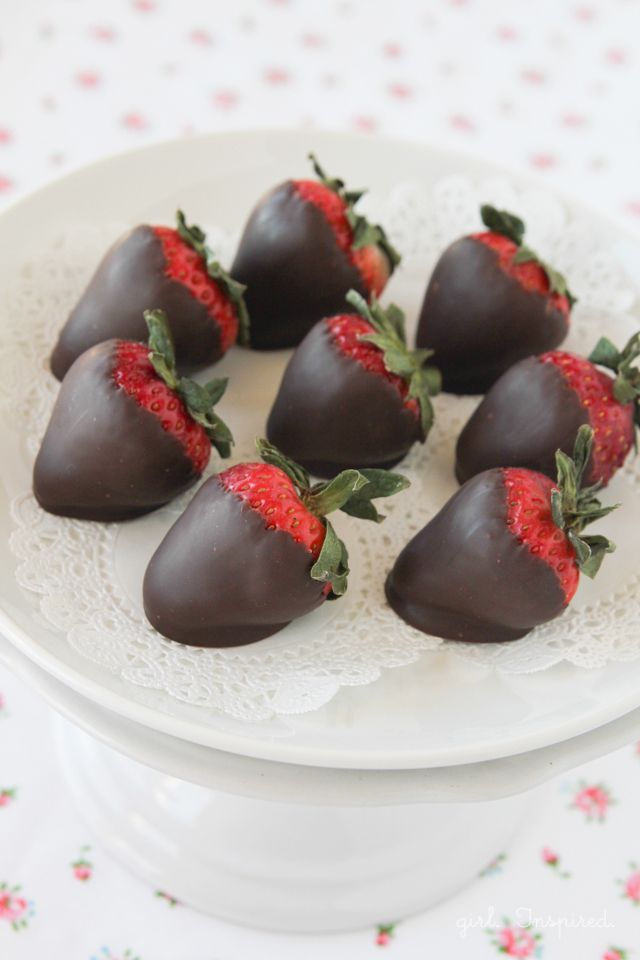 Tomorrow is Valentine's Day and I don't know if there's anything as sweet as a box of chocolate dipped strawberries. Have you ever made them? They're a treat that just feels special! I was in the cake supply store a few weeks back, picking up Pastry Pride to make an ice cream cake, when I... Read More »