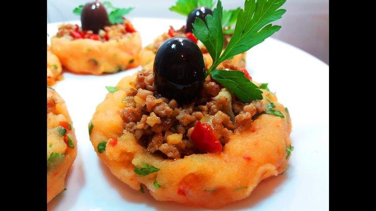 КАРТОФЕЛЬНЫЕ ГНЕЗДА  С МЯСОМ НА ПРАЗДНИЧНЫЙ СТОЛ.  Конкурс Альфа-ОмегаБезумно вкусное блюдо на #праздничныйстол.Ваши гости будут в восторге от такого блюда. #Рецепт очень простой и легкий.