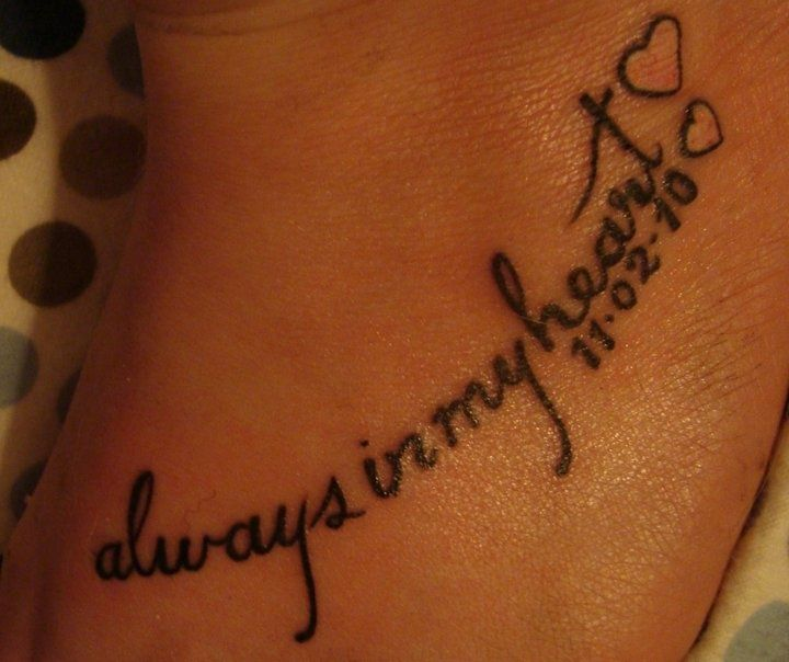 69 best images about tattoos on pinterest 34 word for Small memorial tattoos