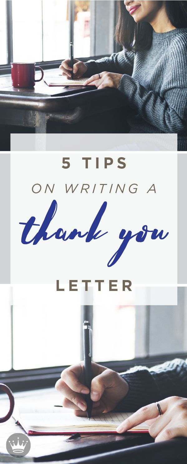 How to Write a Thoughtful Thank-You Note