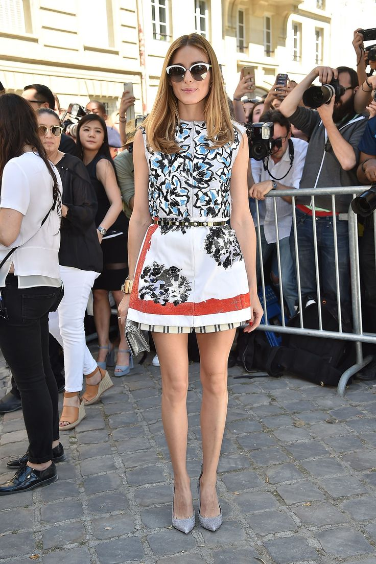 Olivia Palermo in Dior Resort 2015 - Christian Dior Fall 2015 Haute Couture Front Row