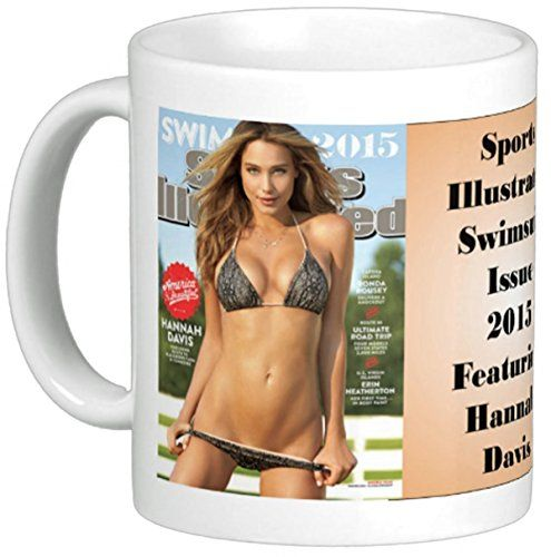 The Image Shark Sports Illustrated Swimsuit Issue 2015 Cover Reproduced on Coffee Mug Featuring Hannah Davis Full Color image infused into the surface of this 11 oz Ceramic Coffee Mug. Note: Virtually all issues are available. Contact us if you are interested in another issue an (Barcode EAN = 0709818804991) http://www.comparestoreprices.co.uk/december-2016-5/the-image-shark-sports-illustrated-swimsuit-issue-2015-cover-reproduced-on-coffee-mug-featuring-hannah-davis.asp