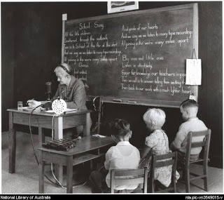 Life and school in outback Australia