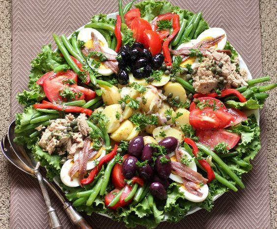 French recipes salade nicoise