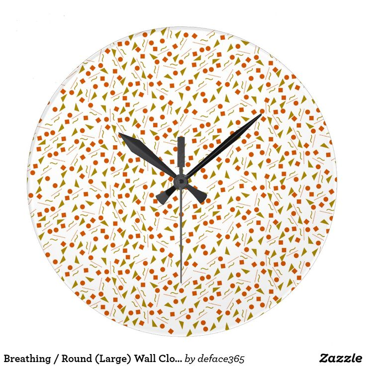 Breathing / Round (Large) Wall Clock