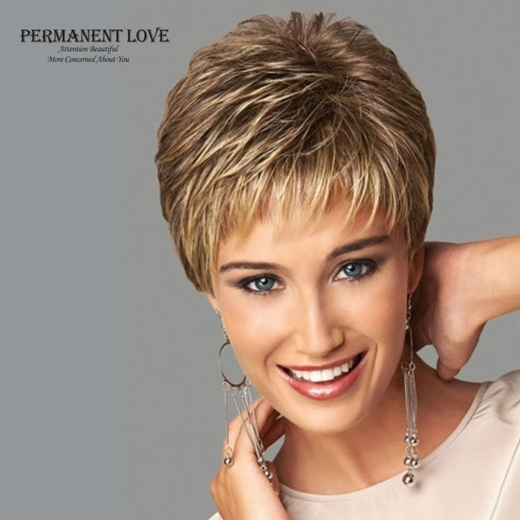 Cheap wig long, Buy Quality wig men directly from China wig mullet Suppliers:                                          Womens synthetic short wigs pixie cut hairstyle blonde bangs dark roo