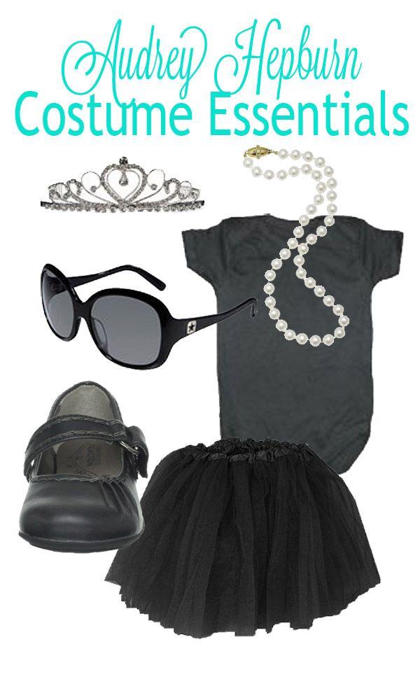 {diy} Easy Audrey Hepburn Halloween Costume Inspiration | The Pinning Mama