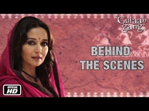 Behind The Scenes | Madhuri  Dixit As Rajjo | Gulaab Gang