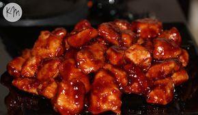 Boneless Baked BBQ Chicken Bites