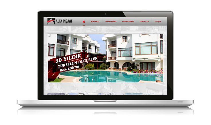 Her türlü inşaat projesinde faaliyet gösterebilen Alta İnşaat, web sitesi yayında www.altainsaat.com.tr