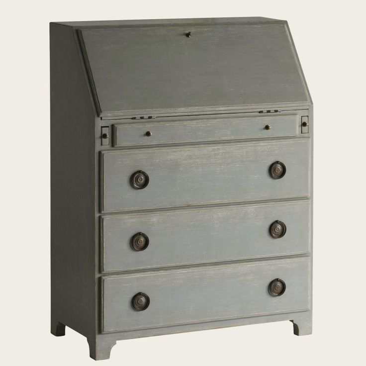 French Country Hand Carved Bureau/Writing Desk in Variety Finishes from The Well Appointed House