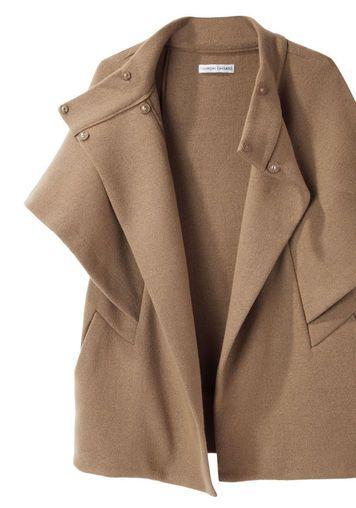 Tsumori Chisato | Double Knit Cape Jacket | La Garçonne