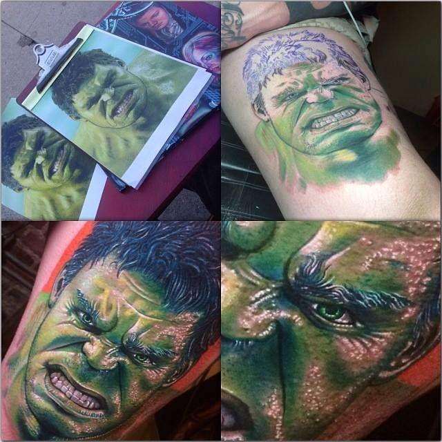 incredible hulk tattoos by roman tattoo inspiration pinterest roman incredible tattoos. Black Bedroom Furniture Sets. Home Design Ideas