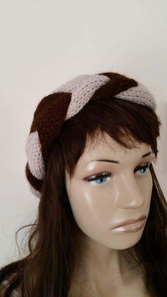 Knit Headband, Knit  Ear Warmer, Headband, Braided Earwarmer, Cable Knitted, Win… – Sky Handmade Product