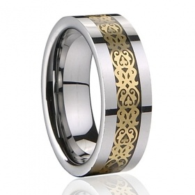 8mm mens tungsten carbide rings polished shiny   Price: $67.29