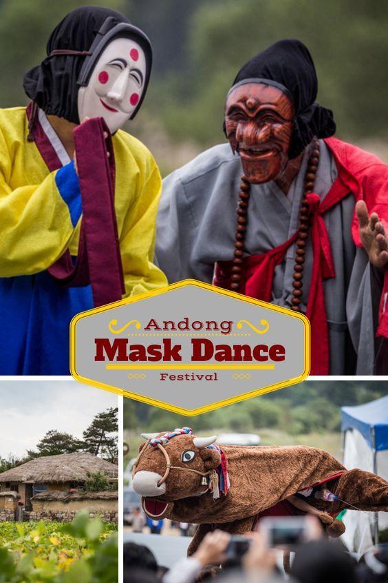 #Andong Mask Dance Festival in #Korea by LifeOutsideofTexas.com