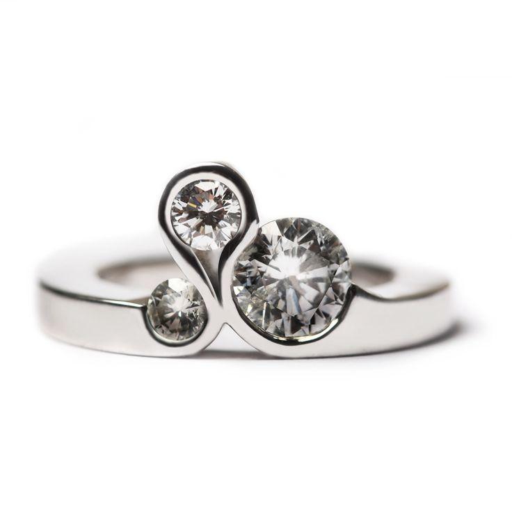 26 best Bevel set Diamond rings images on Pinterest Bezel diamond