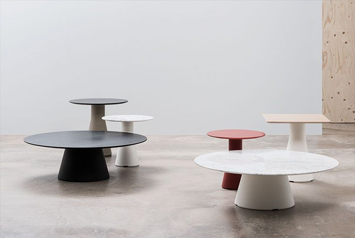 2016 Best of NeoCon Winners Gold: Tables, Occasional - Andreu World Reverse Lounge Tables