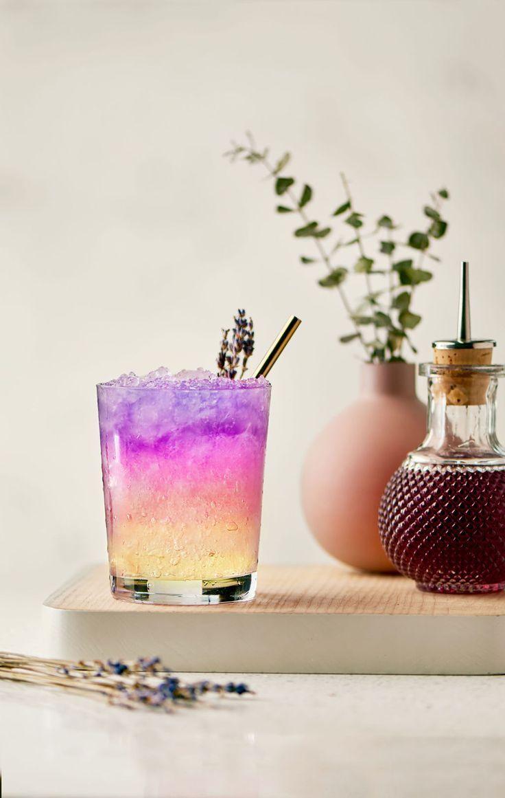 Empress lavender lemonade empress 1908 gin gin drinks