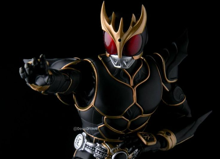 S.H.F Kamen Rider Kuuga Ultimate Form by DecaDroid8 | Gundam Century