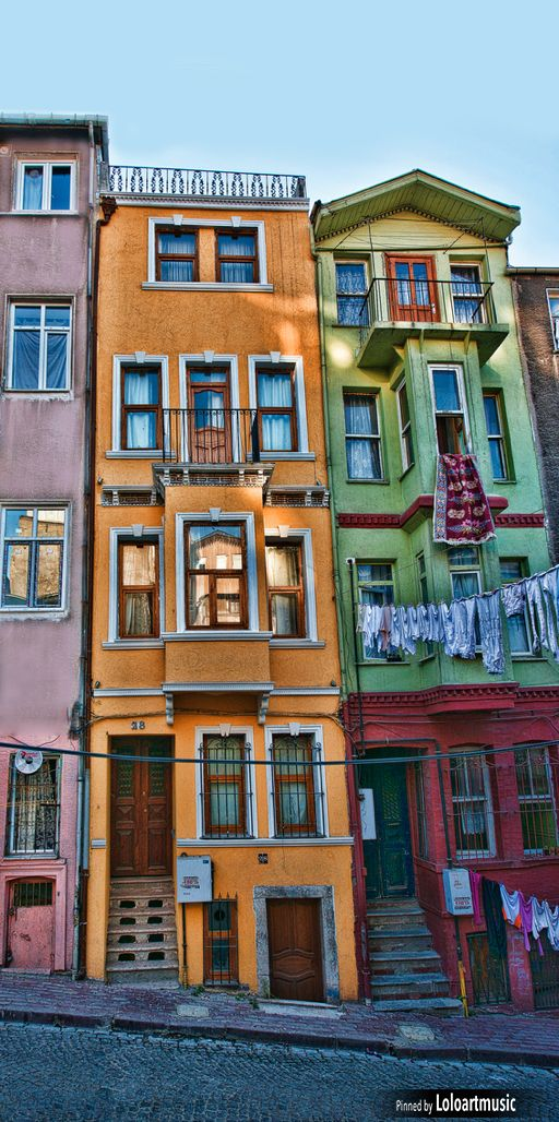 Balat, Istanbul, Turkey. travel images, travel photography