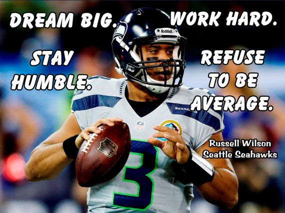 Russell Wilson Poster Seattle Seahawks Photo by ArleyArtEmporium, $15.99