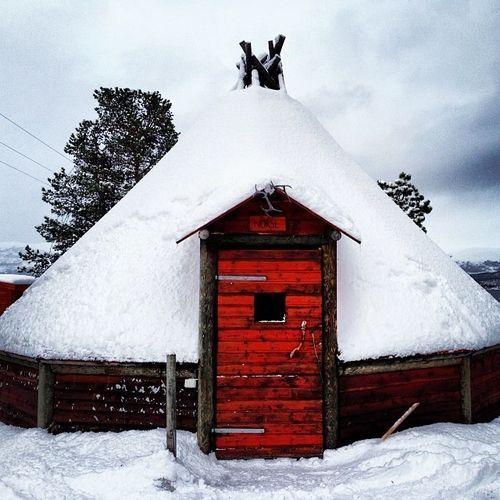 Tromsø, Troms, Norway | Sami Hut, Tromsø, Norway