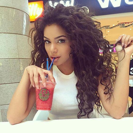 Curly Big Hair