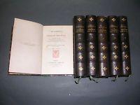 Les historiettes de Tallemant des Réaux Belle édition en 6 volumes Techener 1862