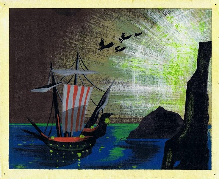Mary Blair - Walt Disney's Peter Pan Concept Art