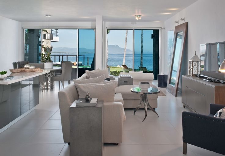 Gansevoort Dominican Republic Sosua, Caribbean Beachfront Luxury Modern Suite property condominium home living room Kitchen Villa