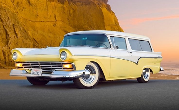 156 best images about trucks wagons vans on pinterest for 1957 ford 2 door ranch wagon