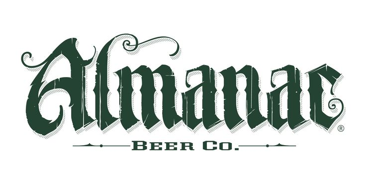 Almanac Beer Co. using LHF Unlovable by Chuck Davis. See more examples of LHF Unlovable at: http://www.letterheadfonts.com/fonts/unlovable.php