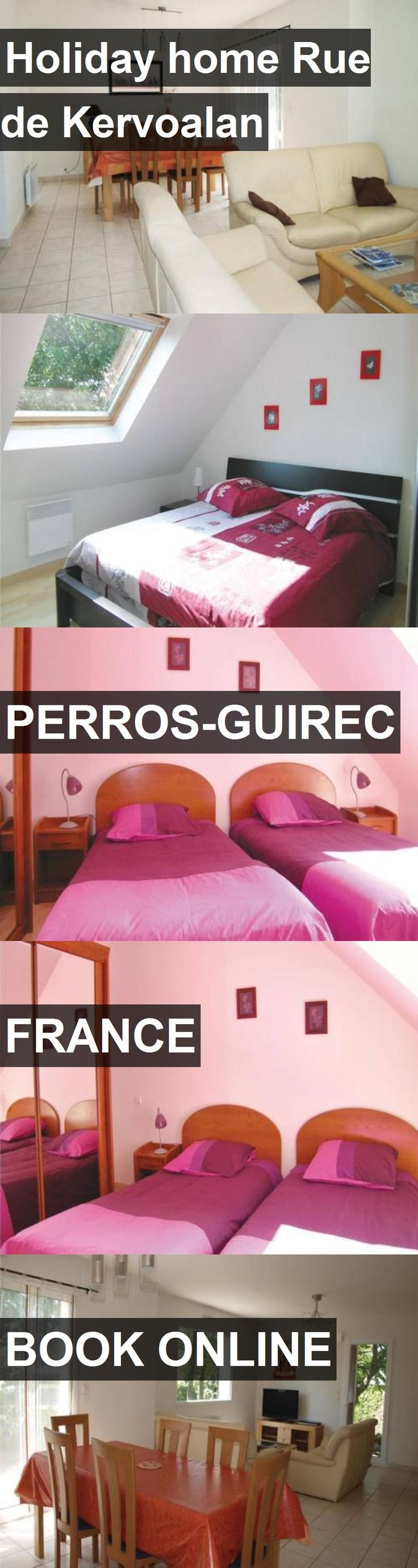 Hotel Holiday home Rue de Kervoalan in Perros-Guirec, France. For more information, photos, reviews and best prices please follow the link. #France #Perros-Guirec #travel #vacation #hotel