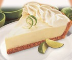 I Absoluetly LOVE Key Lime Pie.  You can find this in the frozen section at the grocery, especially Krogers.  Mrs. Edwards Key Lime Pie -- DELICIOUS...individual servings or the whole pie.