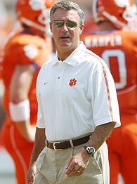 Clemson head football Coach Tommy Bowden (1999 - 2008)