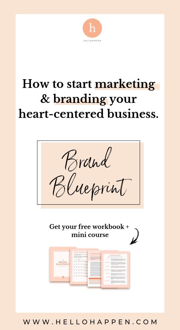 Learn How To Start Marketing And Branding Your Heart Centered Business Know How To Build Your Online Presence Th Learn Business Branding Entrepreneur Branding
