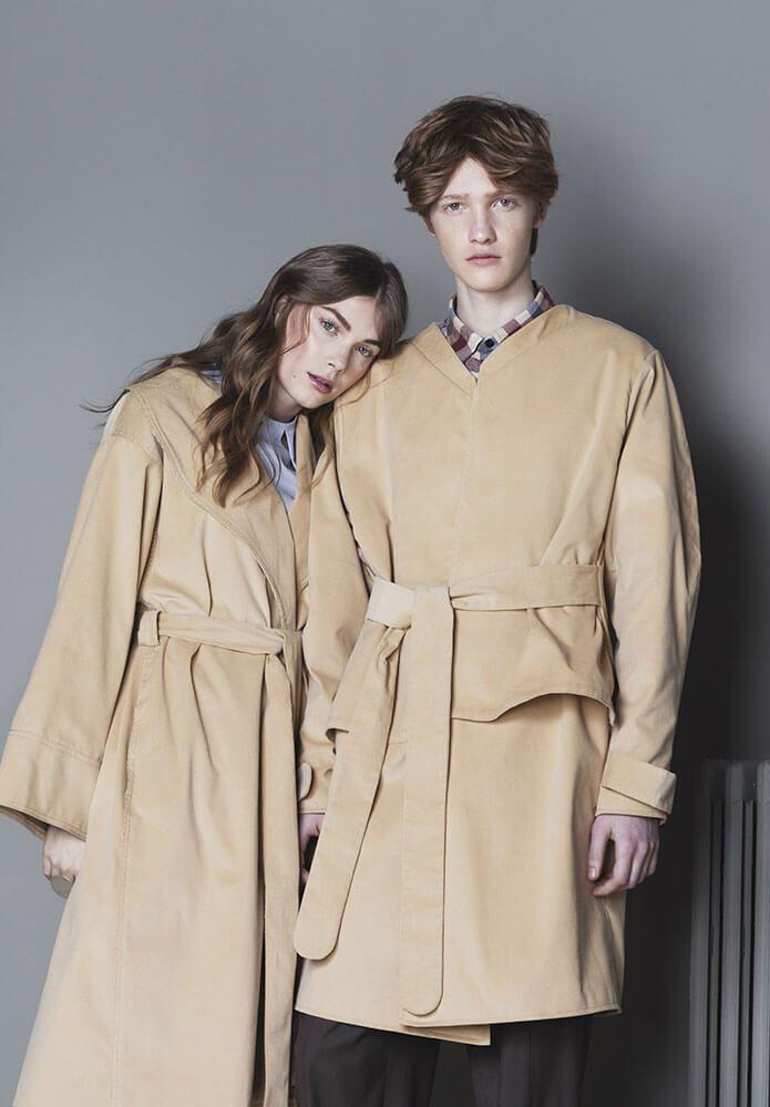 Coat for Fay and Pan #coat, #trench, #minimalism, #simplesophistication, #fashion